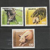 Suisse Neuf **  2004  N° 1812/1814   Protection Suisse Des Animaux - Suisse