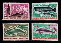 SPM - YV 391 à 394 N** Complete Cote 21,80 Euros - St.Pierre & Miquelon