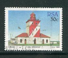 AFRIQUE DU SUD- Y&T N°657- Oblitéré (phares) - Lighthouses