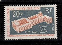 SPM - YV 398 N** OIT Cote 12,50 Euros - St.Pierre & Miquelon