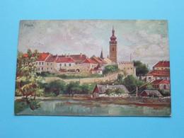 PISEK ( A. Gareise - K.T.Z. ) Anno 1928 ( See / Zie Foto's ) ! - Repubblica Ceca