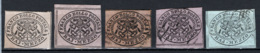 Stato Pontificio 1852 1/2 Baj 5 Val. */O/MH/Used F - Etats Pontificaux