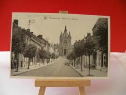 Belgique > Hainaut > Bonsecours > Avenue De La Basilique - Circulé 1952 - Mons