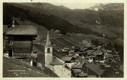 CHANDOLIN ALT 1936M  Suiza Switzerland Suisse Schweiz - VS Valais