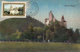 79012- BRAN CASTLE, DRACULA CASTLE, ARCHITECTURE, MAXIMUM CARD, 1983, ROMANIA - Castles