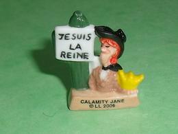 """Fèves / Autres / Divers : Lucky Luke , Calamity Jane 2006 , """" La Mie Caline """"     T83 - Fèves"""