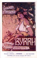 Concours D'affiches BYRRH. 6ème Prix. Illust. De Melle BRIOT. Non Circulée. TB état. - Publicité