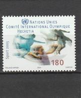 Suisse Neuf **  2004  N° 1830   Année Mondiale Du Sport - Suisse