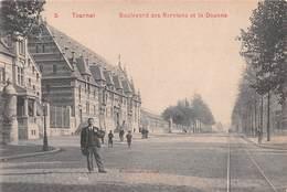 TOURNAI - Boulevard Des Nerviens Et La Douane (chocolat Blumer Anvers) - Tournai