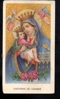 140- Santino Edizione G.mi EGIM Madonna Del Carmine - Santini