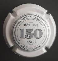 PLACA DE CAVA LANGA - 150 ANIVERSARIO. - Placas De Cava