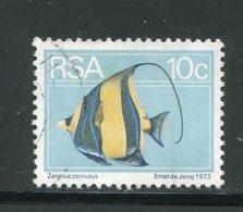 AFRIQUE DU SUD- Y&T N°367- Oblitéré (poissons) - Afrique Du Sud (1961-...)