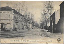 LANGEAC - L' Avenue De La Gare - Langeac