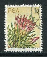AFRIQUE DU SUD- Y&T N°416- Oblitéré (fleurs) - Afrique Du Sud (1961-...)