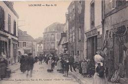 CPA   Locminé (56) Rue Du Fil       Collection Gervais      Cliché Le Clainche - Locmine