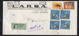 Ecuador 1962, To Switzerland - Ecuador