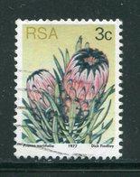 AFRIQUE DU SUD- Y&T N°418- Oblitéré (fleurs) - Afrique Du Sud (1961-...)
