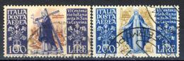 Santa Caterina - Serie Di Posta Aerea 100 E 200 Lire - 1946-.. République