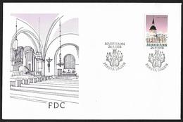 1988 - ALAND - FDC + Michel 31 [Jomala] + MARIEHAMN - Aland