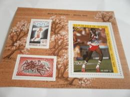 Miniature Sheet Perf Seoul Olympics 88 - Chad (1960-...)