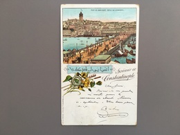 CONSTANTINOPLE - ISTANBOEL - ISTANBUL - Litho - Turkije