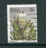 AFRIQUE DU SUD- Y&T N°423- Oblitéré (fleurs) - Afrique Du Sud (1961-...)