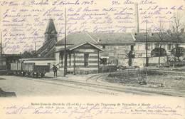 SAINT NOM La BRETECHE-gare Du Tramway De Versailles à Maule - St. Nom La Breteche
