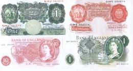 UK Bank Of England 7 Note Set 1955-62 COPY - 1952-… : Elizabeth II