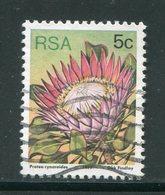 AFRIQUE DU SUD- Y&T N°420- Oblitéré (fleurs) - Afrique Du Sud (1961-...)