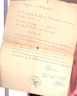 Wepion  1950 - Documents