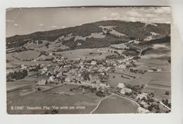 CPSM SEMSALES (Suisse-Fribourg) - Vue Prise Par Avion - FR Fribourg