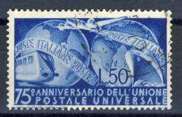 UPU - Lire 50 - 1946-60: Oblitérés