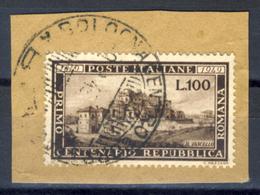 Repubblica Romana - 100 Lire Su Frammento - 1946-60: Oblitérés