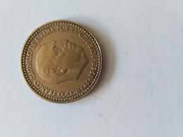 MONEDA De 1 Pesetas 1963 Estrella 66 - [ 5] 1949-… : Kingdom