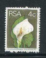 AFRIQUE DU SUD- Y&T N°362- Oblitéré (fleurs) - Afrique Du Sud (1961-...)