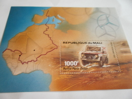 Miniature Sheet Perf Dakar Rally Mercedes Benz 1983 - Mali (1959-...)