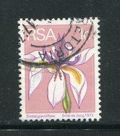AFRIQUE DU SUD- Y&T N°367- Oblitéré (fleurs) - Afrique Du Sud (1961-...)