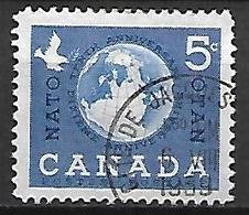 CANADA    -   OTAN  /  NATO  /  Colombe De La Paix  -   Oblitéré - 1952-.... Règne D'Elizabeth II