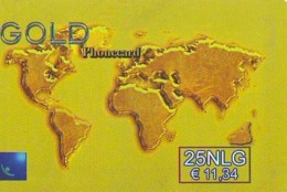 TELECARTE  * MAP  (487)  GLOBE * SATELLITE * TERRESTRE * MAPPEMONDE * ESPACE  Telefonkarte Phonecard - Espace