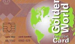 TELECARTE  * MAP  (489)  GLOBE * SATELLITE * TERRESTRE * MAPPEMONDE * ESPACE  Telefonkarte Phonecard - Espace