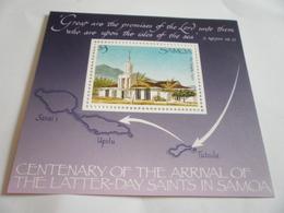 Miniature Sheet Perf The Latter Day Saints - Samoa