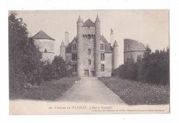 Château Du Plessis, Autry-Issards, Collection Des Châteaux De L'Allier, Bourgeois Frères N° 36 - France
