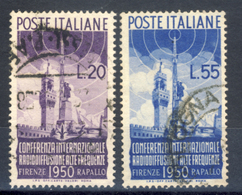 Radiodiffusione - Serie Completa - 1946-60: Oblitérés