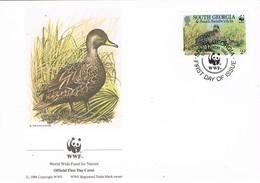 32773. Carta F.D.C. SOUTH GEORGIA And Is. Sandwich 1992. Pato Georgia, Duck - Georgias Del Sur (Islas)