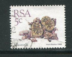 AFRIQUE DU SUD- Y&T N°662- Oblitéré (plantes Grasses) - Afrique Du Sud (1961-...)