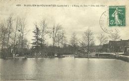 (ST JULIEN DE VOUVANTES )( 44 ) L ETANG DU DON - Saint Julien De Vouvantes