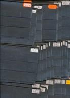 Hawid Einsteckkarten  C6  Schwarz   200  Stück     Gebraucht  Ohne  Karton - Stockbooks