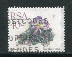 AFRIQUE DU SUD- Y&T N°670- Oblitéré (plantes Grasses) - Afrique Du Sud (1961-...)