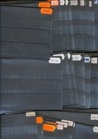 Hawid Einsteckkarten  C6  Schwarz   200  Stück     Gebraucht  Ohne  Karton - Klemmbinder