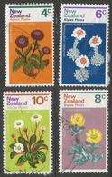 New Zealand. 1972 Alpine Flowers. Used Complete Set. SG 983-986 - New Zealand